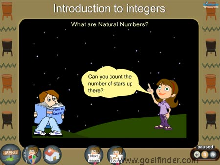Integers - Natural Numbers